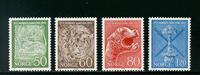 Norge - AFA nr. 653-656 - Postfrisk