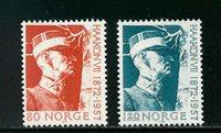 Norvège - AFA 657-658 - Neuf