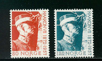 Norway - AFA 657-658 - Mint
