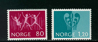 Norway - AFA 659-660 - Mint