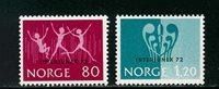 Norvège - AFA 661-662 - Neuf
