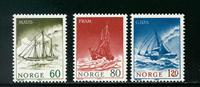 Norge - AFA nr. 663-665 - Postfrisk