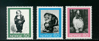 Norway - AFA 666-668 - Mint