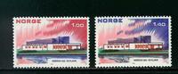 Norge - AFA nr. 676-677 - Postfrisk