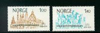Norge - AFA nr. 705-706 - Postfrisk