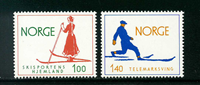 Norge - AFA nr. 709-710 - Postfrisk