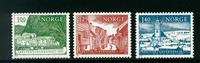 Norge - AFA nr. 714-716 - Postfrisk