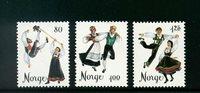 Norge - AFA 733-735 - Postfrisk