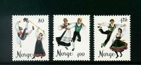 Norge - AFA nr. 733-735 - Postfrisk
