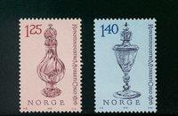 Norge - AFA 736-737 - Postfrisk
