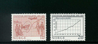 Norvège - AFA 742-743 - Neuf