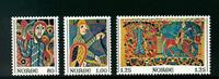 Norge - AFA nr. 748-750 - Postfrisk