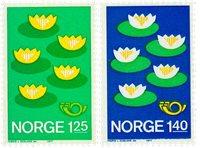 Norge - AFA 751-752 - Postfrisk