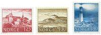 Norge - AFA 753-755 - Postfrisk