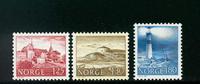 Norge - AFA nr. 753-755 - Postfrisk
