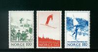 Norge - AFA nr. 804-806 - Postfrisk