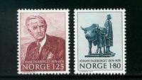 Norge - AFA nr. 811-812 - Postfrisk