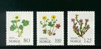Norge - AFA nr. 817-819 - Postfrisk