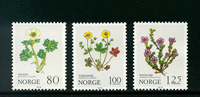 Norvège - AFA 817-819 - Neuf