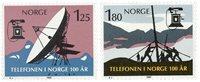 Norge - AFA 826-827 - Postfrisk