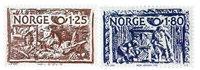 Norge - AFA 829-830 - Postfrisk