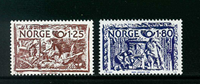 Norvège - AFA 829-830 - Neuf