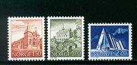 Norge - AFA 839-841 - Postfrisk
