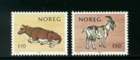 Norge - AFA nr. 842-843 - Postfrisk