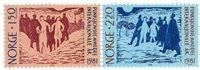 Norge - AFA 853-854 - Postfrisk