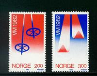 Norvège - AFA 861-862 - Neuf