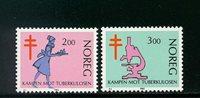 Norge - AFA 870-871 - Postfrisk