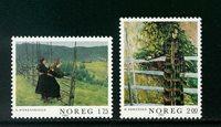 Norge - AFA nr. 875-876 - Postfrisk