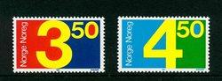Norvège - AFA 965-966 - Neuf