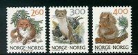 Norge - AFA 1007-1009 - Postfrisk