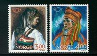 Norge - AFA 1015-1016 - Postfrisk
