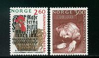 Norge - AFA nr. 1019-1020 - Postfrisk