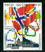 Norvège - AFA 1146-1149 - Oblitéré
