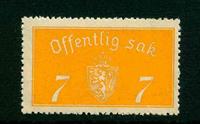 Norvège - Timbres service - AFA 11 - Neuf