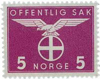 Norvège - Timbres service - AFA 41 - Neuf