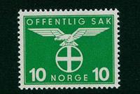 Norvège - Timbres service - AFA 43 - Neuf