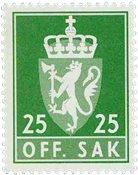 Norvège - Timbres service - AFA 103 - Neuf