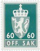 Norge tjenestemærker - AFA nr. 106 - Postfrisk