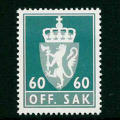 Norvège - Timbres service - AFA 106 - Neuf