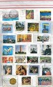 西德,200克图像标记邮票