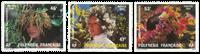 Polynésie 219/21 * Fleurs