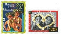 Polynésie 586/87 * Fêtes Mères