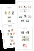 Grønland - Stemplet samling i Leuchtturm fortryksalbum