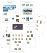 Greenland - Collection in Leuchtturm album with mounts