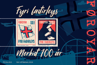 Îles Féroé - Bienfaisance Merkid - Bloc-feuillet neuf