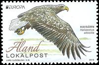 Åland - Fugle Europa 2019 - Postfrisk frimærke